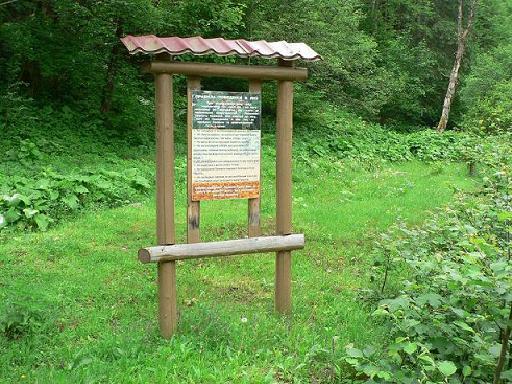 Панно біля контори лісництва